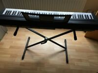 Keyboard YAMAHA P-45 STAGE PIANO BUNDLE- perfect condition