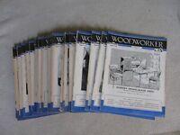 Vintage Woodworker Magazines