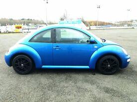 Volkswagon Beetle, 2.0 Petrol, X REG in Blue, 7 Months MOT