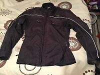 Black medium motorbike jacket