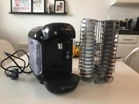 Tassimo Coffee Machine with 15 Costa Lattes and Holder