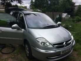 Citroen c8 7 seat MPV diesel low mileage full mot and full service history one pre owner to us