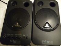 Behringer MS16 Studio Monitors