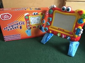 Chad ValleyBig Magnetic easel with sounds and music