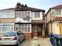 MODERN 1 BED FLAT FURNISHED INCLUDES ALL UTILITY BILLS 2O MINS WALK TO SUDBURY HILL & NORTHOLT TUBE