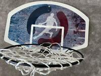 Wall mounted basket ball net