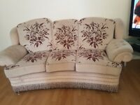 Lovely 3 seater sofa x 2