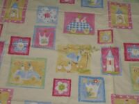 Pretty Princess Design (Lemon) fabric