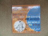 Joe Jackson 'Big World' original vinyl LP