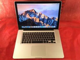 """MACBOOK PRO 15"""" i7 8GB RAM 1TB HDD-FIXED PRICE-2011-collection from E17 9AP-L676"""
