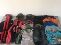 13 Boys Clothes Bundle Age 3-4, Gap, Baker Boys, Polarn O Pyret, Slazenger, Disney