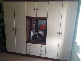 Large Wardrobe with mirror