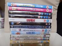 13 DVDs for sale 8 brand new