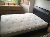 Double mattress bought from John Lewis, barely used as it was for guest room