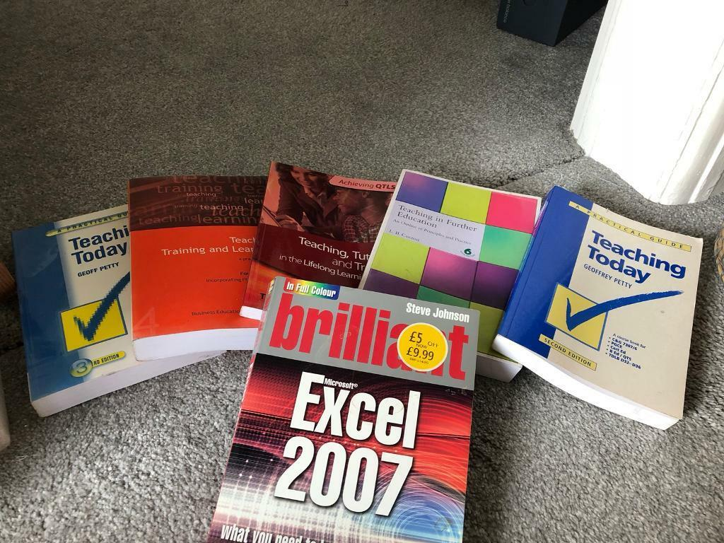 free selection of teaching books excel manual in wirral