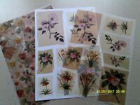 CRAFT / CARD MAKING FLORAL TOPPER & VELUM SET