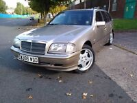 MERCEDES C200 ESTATE CLASIC Auto PETROL MANUFACTURED ON 2000 FIRST REG 2003Year