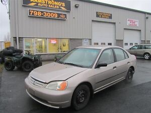 2002 Honda Civic - as-traded special!