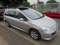 Peugeot 307 SW 1.6 HDi SE 7 Seater 2007 (07)