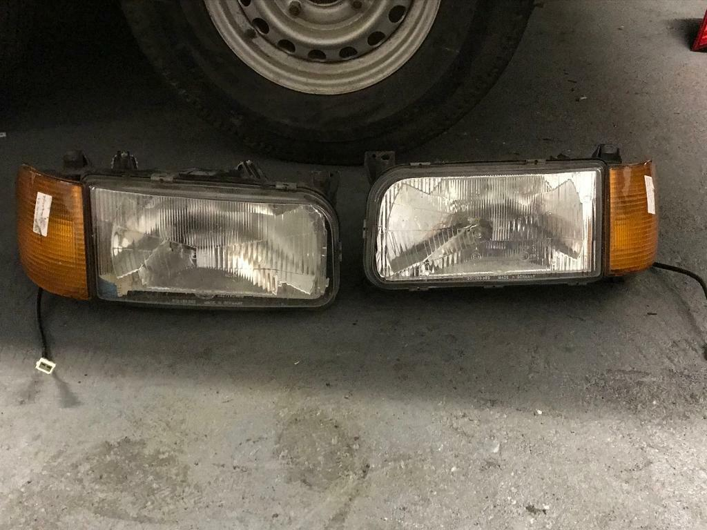 Passat B3 mk3 headlights and indicators