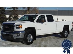 2015 Sierra 3500HD SLE Crew Long Box 4x4-Tow Package-6.0L Gas