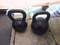 Kettlebells 2 x 28kg