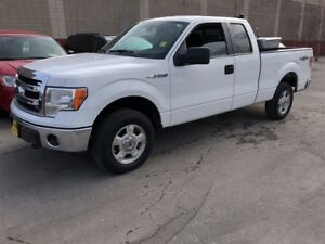 2014 Ford F-150 XLT, Crew Cab, Auto, Back Rack, 4x4