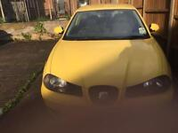 Seat Ibiza number plate 05 , low miles 82k