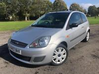 2008 FORD FIESTA 1.2 STYLE 3DR SILVER