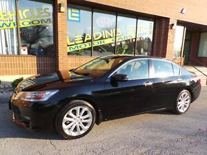 2014 Honda Accord TOURING, NAVI,LEATHER,NO ACCIDENTS