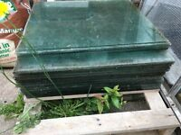Greenhouse Glass (used) panes x 20