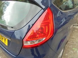 FORD FIESTA 2009 Mk7 3door Rear Lights complete
