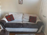 3 seater sofa and chair good condition
