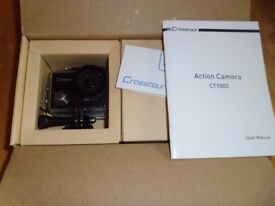 Crosstour Action Camera 4K WiFi - Model CT9000 NEW BOXED