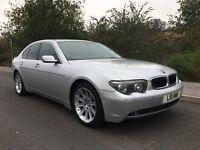 2002 BMW 7 SERIES 4.4 745Li, Xenon headlights, LED light upgrades, Digital TV, SAT NAV, Blinds...