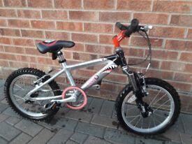 Raleigh zero 16 inch bike