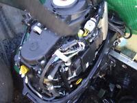 tohatsu 25hp short shaft power trim / start controls