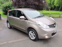 2009 (09) Nissan Note 1.6 16v Acenta 5d MPV *ONLY 56K* FULL S/HISTORY* LONG MOT*IMMACULATE CONDITION