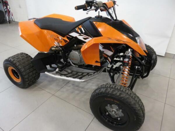 Used 2009 KTM 505 SX DEMO