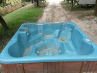 8 PERSON HOT TUB want gone