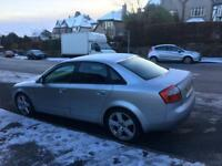 2004, Audi A4 1.9 TDI 130 bhp Sports , very economical very good runner,Long mot &tax