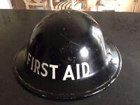 world war 2 first aider helmet