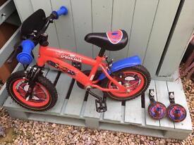 Kids Spider-Man bike £25ono