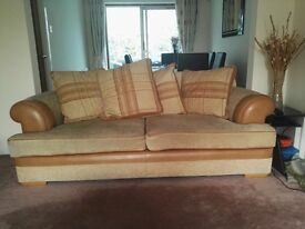 Excellent condition designer sofa