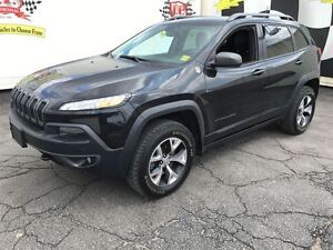 2014 Jeep Cherokee Trailhawk, Automatic, Leather, Heated Seats,