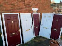 Front door composite upvc