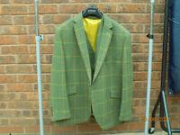 Mens Tweed Jacket & Waistcoat