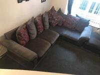 Grey corner sofa in good condition. Can deliver local