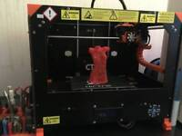 3D PRINTER READY TO PRINT WITH ACCESSORIES