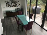Stunning Mobili Domini Dining Room Table and 4 Chairs